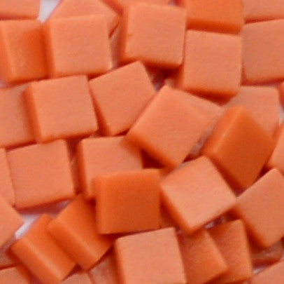 1105-m Orange, 12mm - Oranges, Reds & Pinks tile - Kismet Mosaic - mosaic supplies