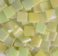126-i Pale Yellow, 12mm - Yellows tile - Kismet Mosaic - mosaic supplies