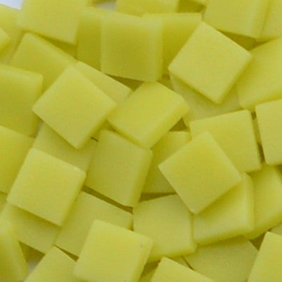 127-m Light Yellow, 12mm - Yellows tile - Kismet Mosaic - mosaic supplies