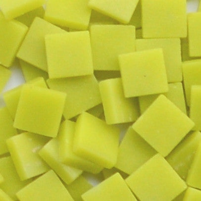 129-m Lemon Meringue, 12mm - Yellows tile - Kismet Mosaic - mosaic supplies