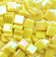 130-i Sweet Corn, 12mm - Yellows tile - Kismet Mosaic - mosaic supplies