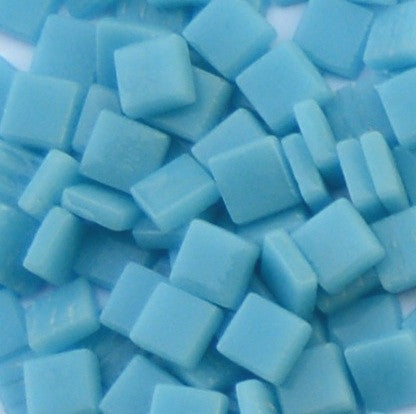 163-g Turquoise Blue, 12mm - Blues & Purples tile - Kismet Mosaic - mosaic supplies