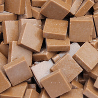 199-m Amaretto, 12mm - Tans & Browns tile - Kismet Mosaic - mosaic supplies