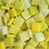 12mm - Yellows - Gloss, 12mm Assortments - Kismet Mosaic