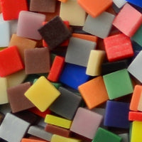 Assorted Colors - Matte, 12mm Assortments tile - Kismet Mosaic - mosaic supplies