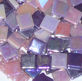 12mm - Pinks & Purples - Iridescent, 12mm Assortments - Kismet Mosaic