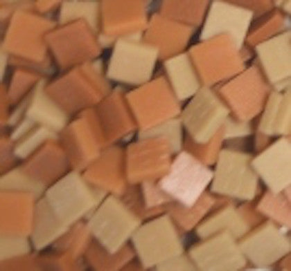 12mm - Tans - Matte, 12mm Assortments - Kismet Mosaic