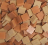 Assorted - Tans - Matte, 12mm Assortments tile - Kismet Mosaic - mosaic supplies