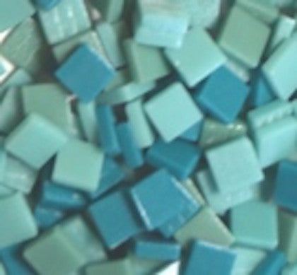 Assorted - Teals - Matte