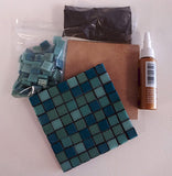 Mosaic Coaster Kit--12mm Kismet Tile