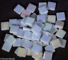 159-i Crystal Blue, 12mm - Blues & Purples tile - Kismet Mosaic - mosaic supplies