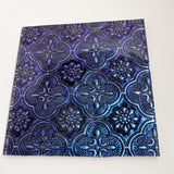 Blue/Violet VanGogh Sparkle - 4""