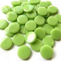 203-g - Apple Green - Gloss Penny Rounds