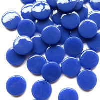 267-g - Periwinkle - Gloss Penny Rounds