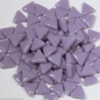 753-g - Lavender Triangle, TriangleGloss tile - Kismet Mosaic - mosaic supplies