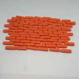 6104-g Tangerine- Mini-Rectangles