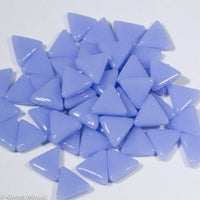762-g - Light Periwinkle Triangle, TriangleGloss tile - Kismet Mosaic - mosaic supplies