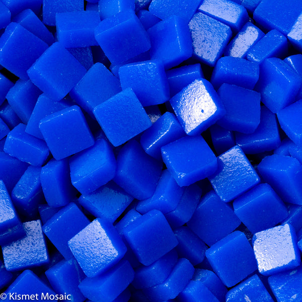 69-m Cobalt Blue, 8mm - Blues & Purples tile - Kismet Mosaic - mosaic supplies