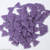 785-g - Purple Triangle, TriangleGloss tile - Kismet Mosaic - mosaic supplies