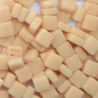 102-g Light Peach, 8mm - Oranges, Reds & Pinks tile - Kismet Mosaic - mosaic supplies