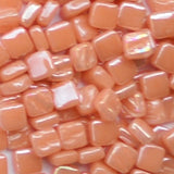 103-i Salmon, 8mm - Oranges, Reds & Pinks - Kismet Mosaic