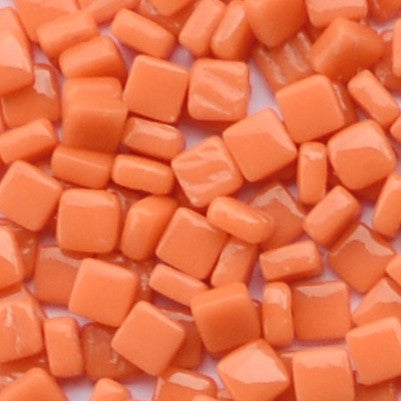 105-g Orange, 8mm - Oranges, Reds & Pinks tile - Kismet Mosaic - mosaic supplies