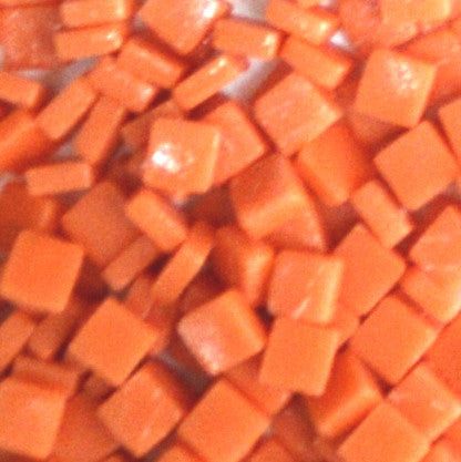 105-m Orange, 8mm - Oranges, Reds & Pinks tile - Kismet Mosaic - mosaic supplies