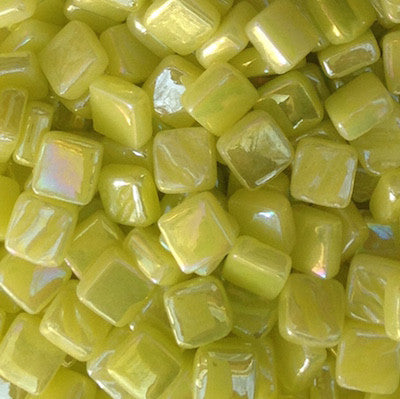 27-i Light Yellow8mm - Yellows - Kismet Mosaic
