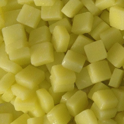 27-m Light Yellow, 8mm - Yellows tile - Kismet Mosaic - mosaic supplies