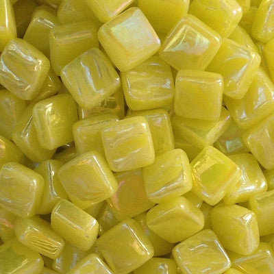 28-i Yellow, 8mm - Yellows tile - Kismet Mosaic - mosaic supplies