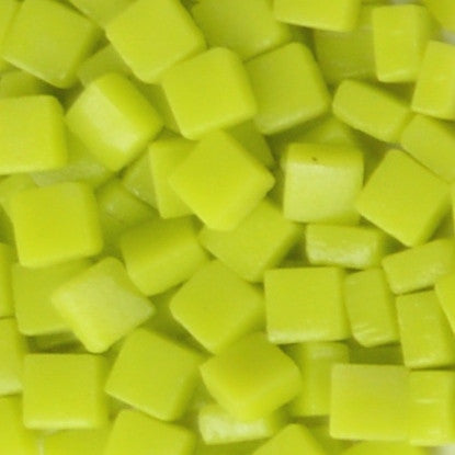 29-m Yellow Meringue, 8mm - Yellows tile - Kismet Mosaic - mosaic supplies