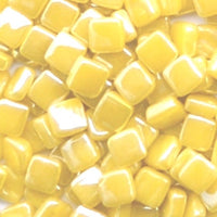 31-i Zinnia, 8mm - Yellows tile - Kismet Mosaic - mosaic supplies