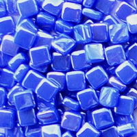 69-i Cobalt Blue, 8mm - Blues & Purples tile - Kismet Mosaic - mosaic supplies