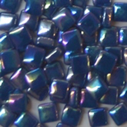 70-i Prussian Blue, 8mm - Blues & Purples tile - Kismet Mosaic - mosaic supplies