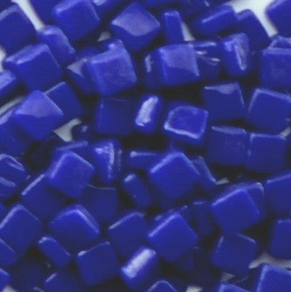 71-g Indigo Blue, 8mm - Blues & Purples tile - Kismet Mosaic - mosaic supplies