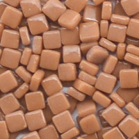 95-g Rum, 8mm - Tans & Browns tile - Kismet Mosaic - mosaic supplies