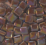 99-i Amaretto8mm - Tans & Browns - Kismet Mosaic