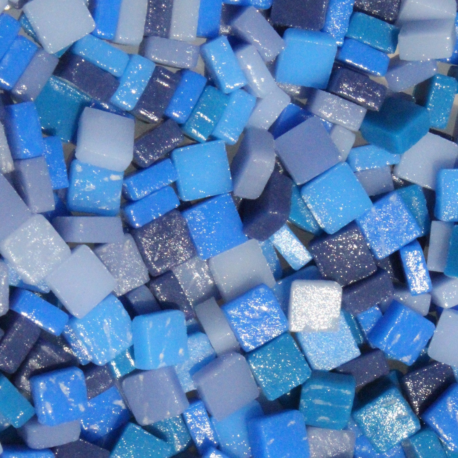 8mm - Dark Blues - Matte8mm Assortments - Kismet Mosaic