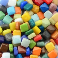 Assorted Colors - Gloss, 8mm Assortments tile - Kismet Mosaic - mosaic supplies