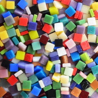 Assorted Colors - Matte, 8mm Assortments tile - Kismet Mosaic - mosaic supplies