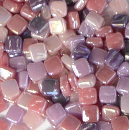 8mm - Pinks & Purples - Iridescent8mm Assortments - Kismet Mosaic