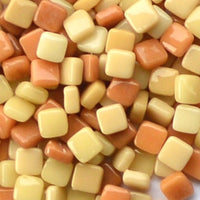 Assorted - Tans - Gloss, 8mm Assortments tile - Kismet Mosaic - mosaic supplies