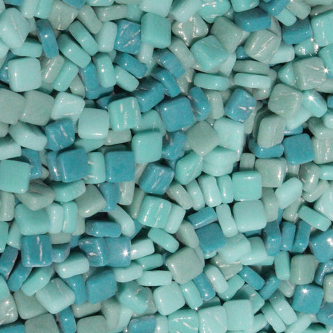 8mm - Teals - Gloss
