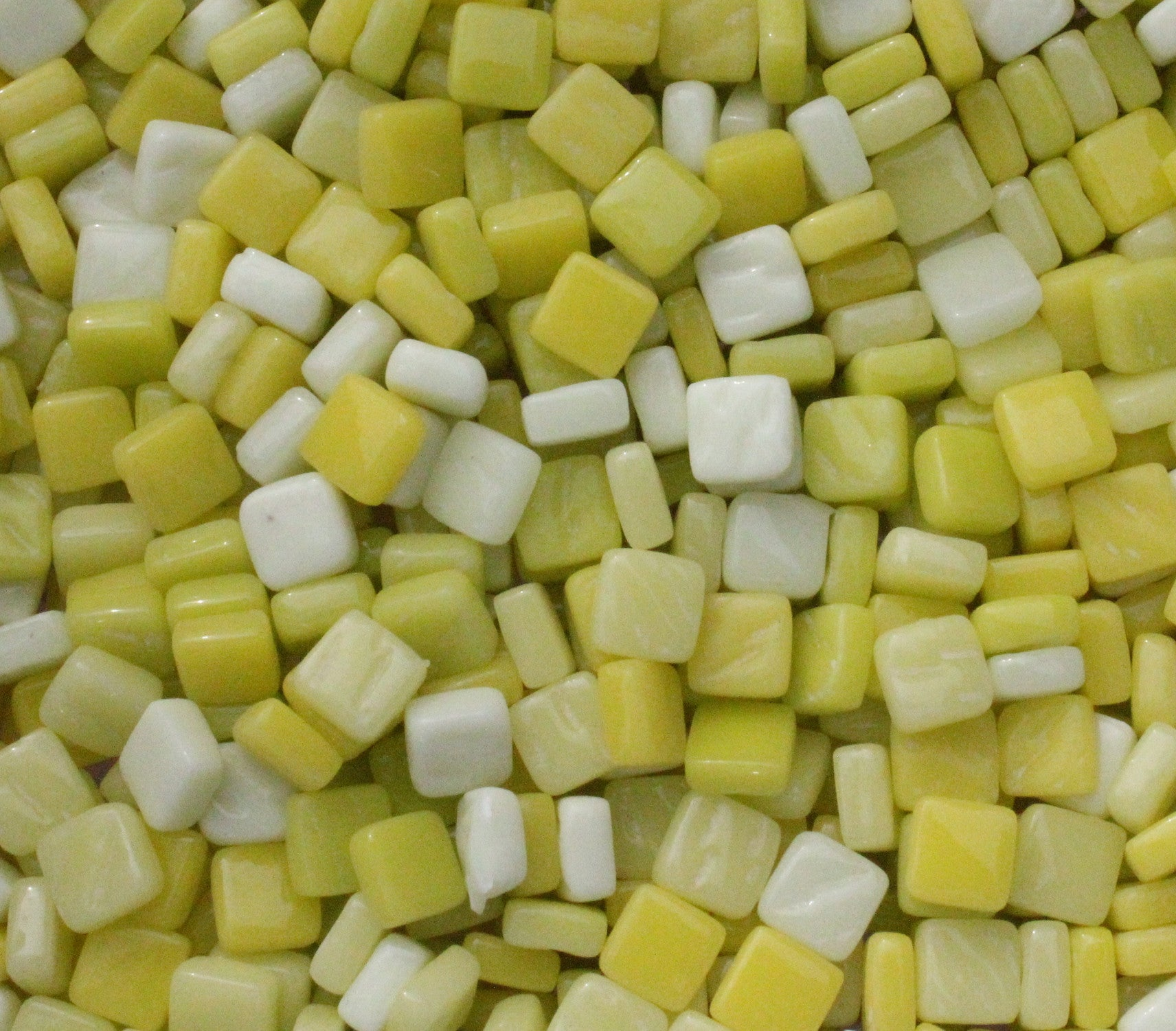 8mm - Yellows - Gloss8mm Assortments - Kismet Mosaic