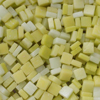 Assorted - Yellows - Matte, 8mm Assortments tile - Kismet Mosaic - mosaic supplies