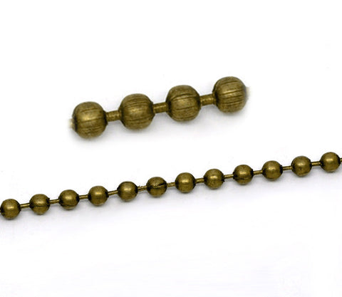 Bronze Ball Chain