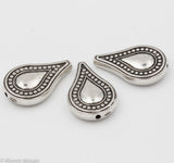 BD130 - Antique Silver Teardrop, Beads tile - Kismet Mosaic - mosaic supplies