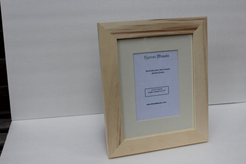 Unfinished 8x10 Picture Frame