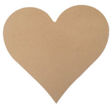 "Heart - 12"", MDFShape tile - Kismet Mosaic - mosaic supplies"