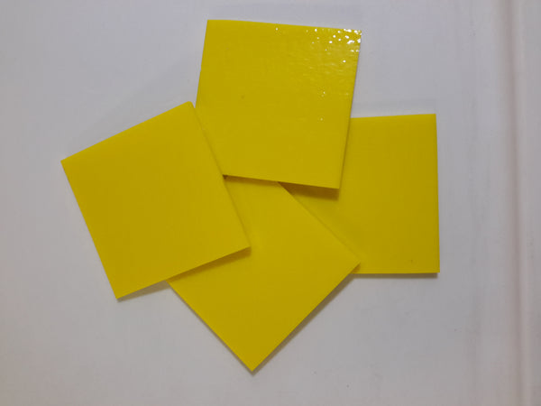 "Yellow Stained Glass 2"" cuts"